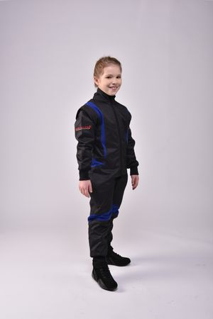 Overall for Karting and Motorsports, model CRUISER FLEX, black/blue, keep-racing®  – Bild 6