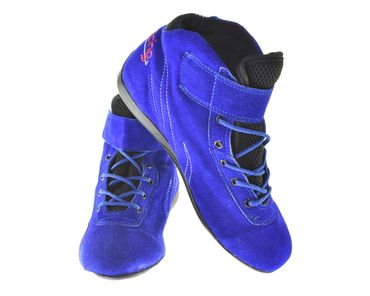 Keep-racing® karting boots, WINGS model, blue, leather, size 34 - 49 – Bild 1