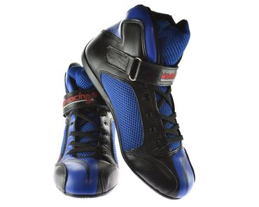 Kart & motor sports shoes, Keep-racing®, model BOOST ONE, blue / black, leather, size 34 - 49 – Bild 1