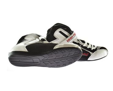 Kart & motor sports shoes, Keep-racing®, model BOOST ONE, white / black, leather, size 34 - 49 – Bild 3
