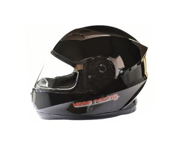 keep-racing® helmet AIR, sizes XS - XL, black, ECE / 22-05, DOT FMVSS 218, NBR 7471 – Bild 1