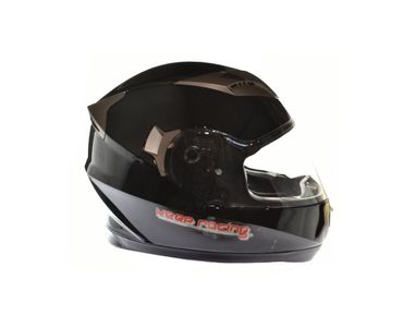 keep-racing® helmet AIR, sizes XS - XL, black, ECE / 22-05, DOT FMVSS 218, NBR 7471 – Bild 2