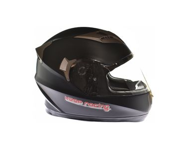 keep-racing® helmet AIR, sizes XS - XL, black mat, ECE / 22-05, DOT FMVSS 218, NBR 7471 – Bild 2