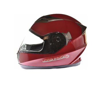 keep-racing® helmet AIR, sizes XS - XL, red, ECE / 22-05, DOT FMVSS 218, NBR 7471 – Bild 1