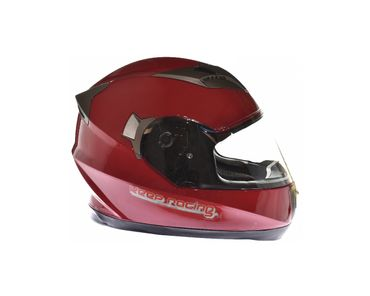 keep-racing® helmet AIR, sizes XS - XL, red, ECE / 22-05, DOT FMVSS 218, NBR 7471 – Bild 2