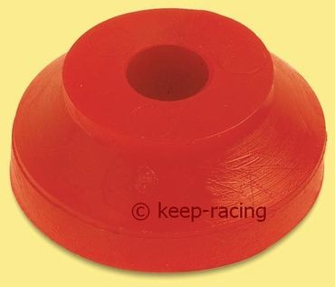 rubber washer e.d. 30 i.d. 8 h.12 red colour