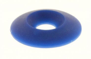 countersunk washer 30 x 8mm blue colour
