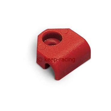 Halterung für Leitungen 6mm rot