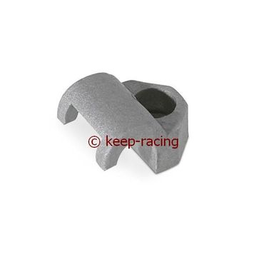 locking for brake pipe connection 6mm, silver colour