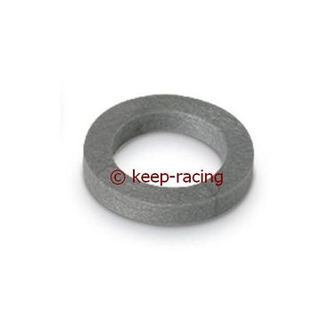 spindle spacer 17x4mm silver colour
