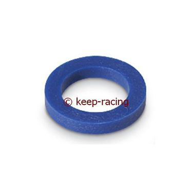 spindle spacer 17x4mm blue colour