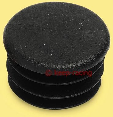 cap for 28mm pipe, black colour