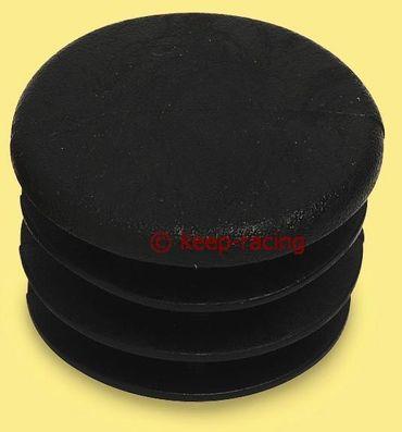 Kappe für 30mm Rohr, schwarz