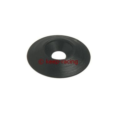 countersunk washer 25 x 6mm, black colour