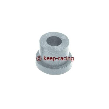 small nylon semi-bush for rear bumper silver colour