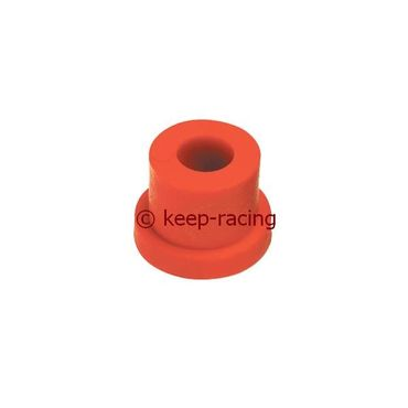 small nylon semi-bush for rear bumper red colour