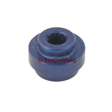 big aluminium semi-bush for rear bumper (32mm) blue anodized