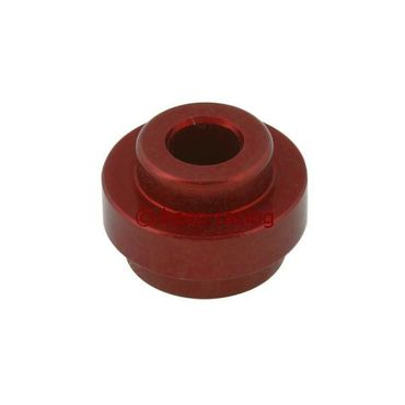 big aluminium semi-bush for rear bumper (32mm) red anodized