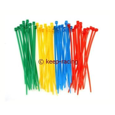 cable tie 200x4,8mm yellow colour