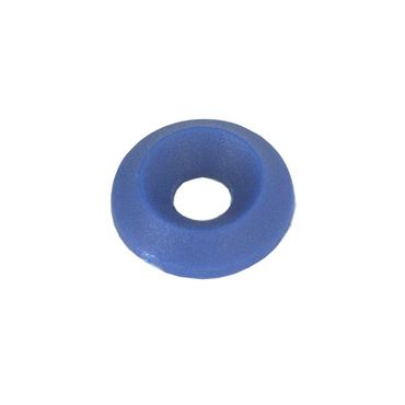 countersunk washer 17 x 6mm blue colour