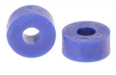 Unterlegscheibe Gummi 27 x 14mm, M10, blau