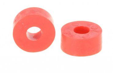 Unterlegscheibe Gummi 27 x 14mm, M10, rot
