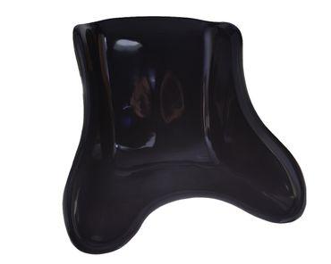 Kartsitz, Sitzschale schwarz, Kunststoff, Größe XXL