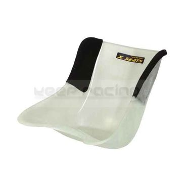 seat size s.(1) with covered sides in black colour