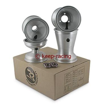 5 Zoll Aluminiumfelgen, Satz, 125mm(17mm)/180mm(58mm)