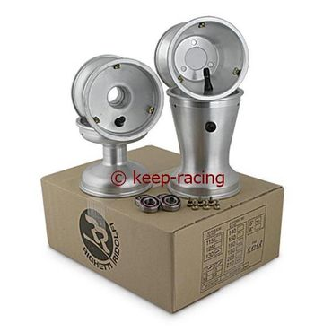 5 Zoll Aluminiumfelgen, Satz, 125mm(17mm)/180mm(58mm)FS