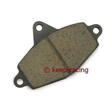 front brake pad, hard type (111),black colour