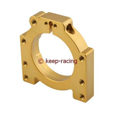 aluminium housing for 40/50mm axle bearing gold anodized