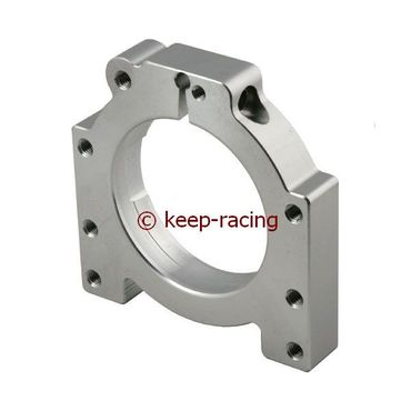 aluminium housing for 40/50mm axle bearing aluminium anodized
