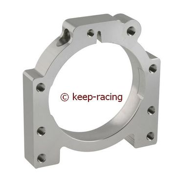 aluminium housing for 50mm axle bearing aluminium anodized