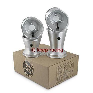 5 Zoll Aluminiumfelgen, Satz, 125mm/180mm(58mm), D.40mm