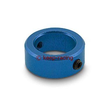 Sicherungsring 20mm Aluminium, blau eloxiert