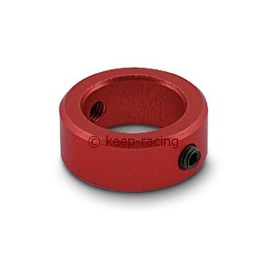 locking ring red anodized for steering column d. 20mm