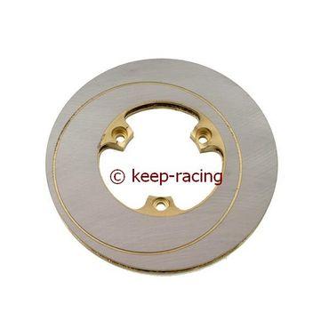 Innenbelüftete Bremsscheibe,rechts,gold verz. (1+1),160x12mm