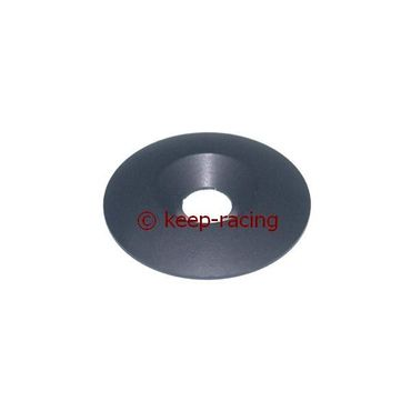 aluminium countersunk washer 34 x 8mm, black anodized