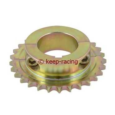 sprocket 28t hole 50mm key 8mm