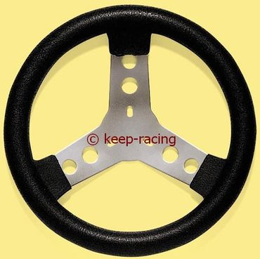 steering wheel with steel spokes covered with polyurethane, diam.280mm