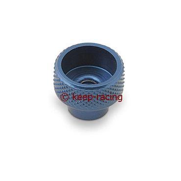 M5 Knopf für Bremseinstellung, blau