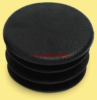 Kappe für 32mm Rohr, schwarz