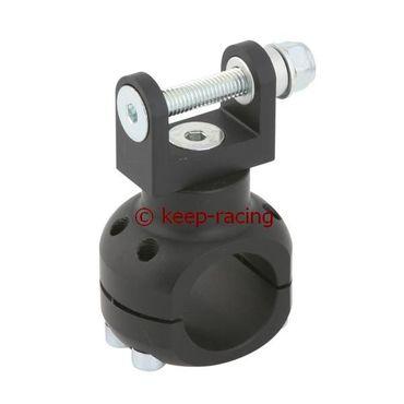 Halterung für Wasserpumpe 28mm schwarz