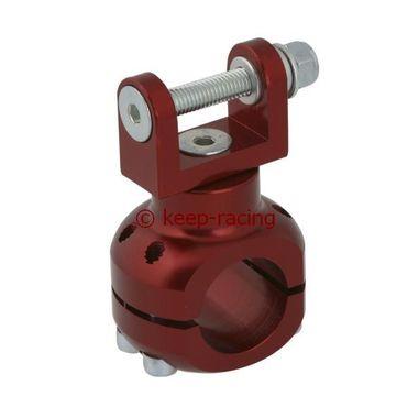 Halterung für Wasserpumpe 28mm rot