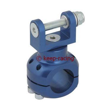 Halterung für Wasserpumpe 32mm blau