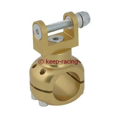 Halterung für Wasserpumpe 32mm gold