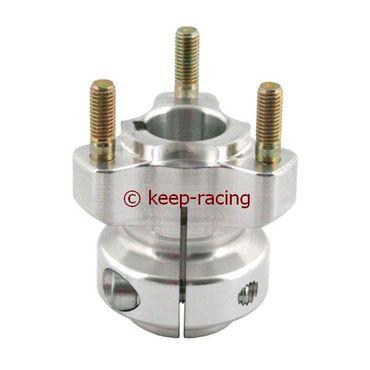 aluminium rear hub 25/62-6 aluminium anodized
