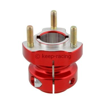 aluminium rear hub 30/62-6/8 red anodized