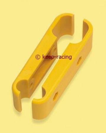 nylon flange yellow colour, for front bumper